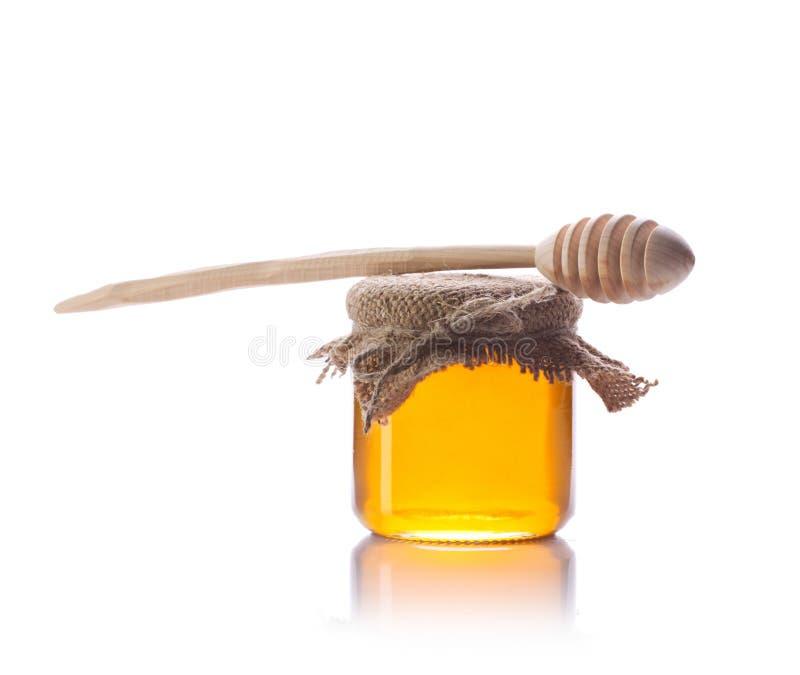 Stillleben des Honigs lizenzfreie stockfotografie