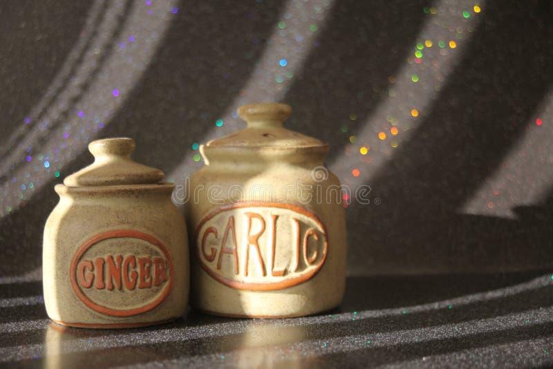 Stillleben-Ginger Garlic-_0060 stockfoto