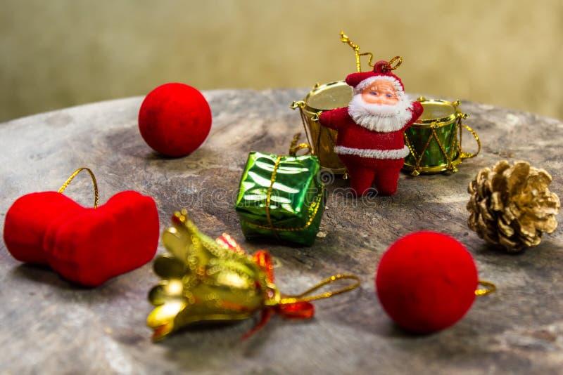 Stillleben mit Stilllebenweihnachten lizenzfreies stockfoto