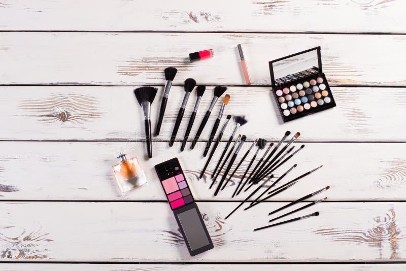 Stillleben von Kosmetik stockfotografie
