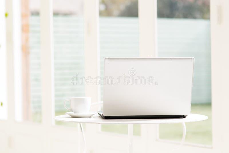 Stilllebenporträt des Computers stockfoto