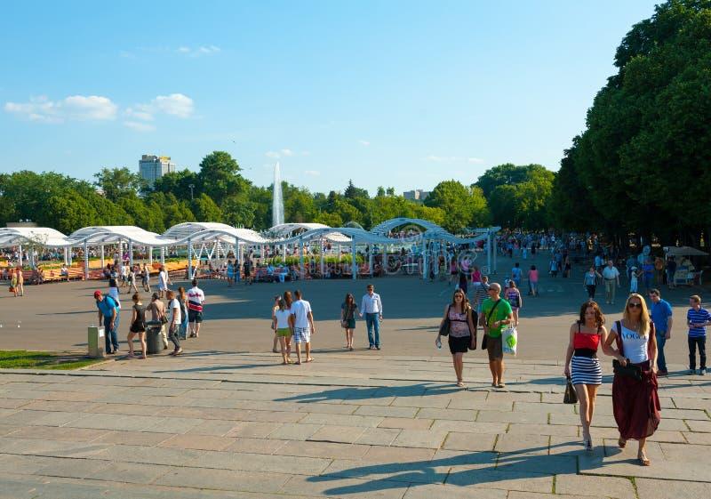 Stillstehen im Gorky-Park lizenzfreie stockfotos