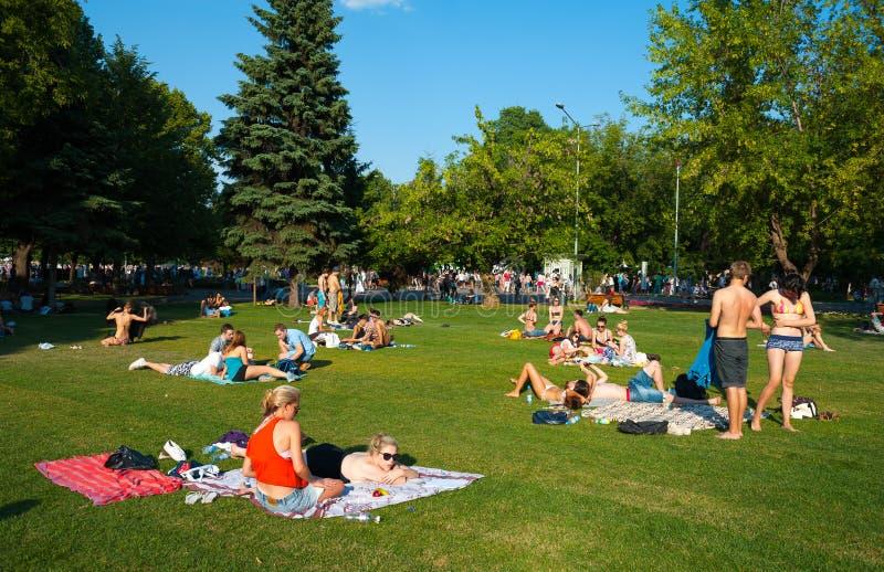 Stillstehen im Gorky-Park stockbilder