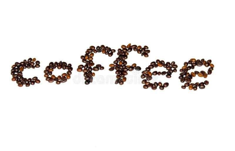Stilsort för kaffebönor royaltyfri foto
