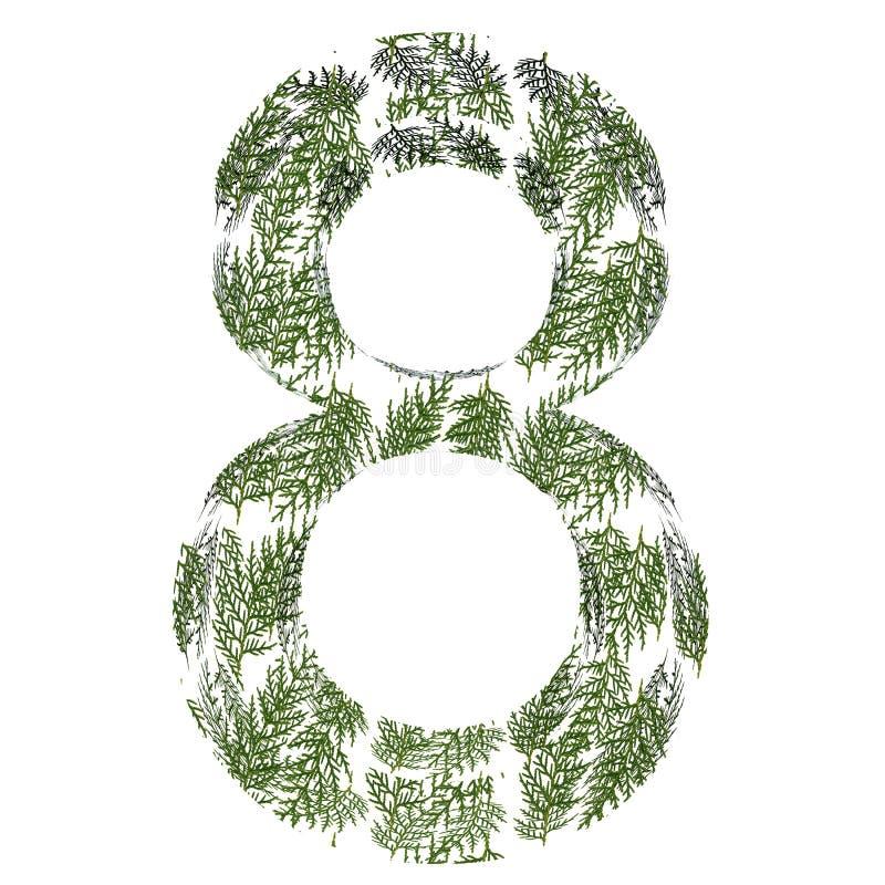 Stilsort som göras av blad arkivbilder