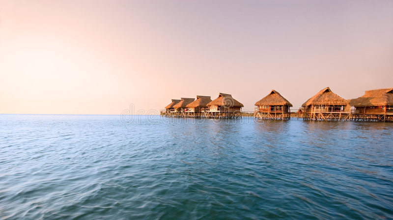 Download Stilt Houses Royalty Free Stock Photography - Image: 7664577