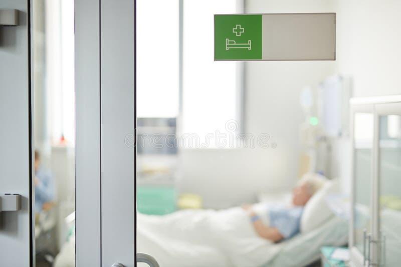 Stilte in het Ziekenhuis royalty-vrije stock fotografie
