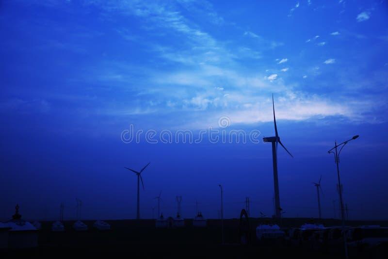 Stilteblauw stock afbeelding