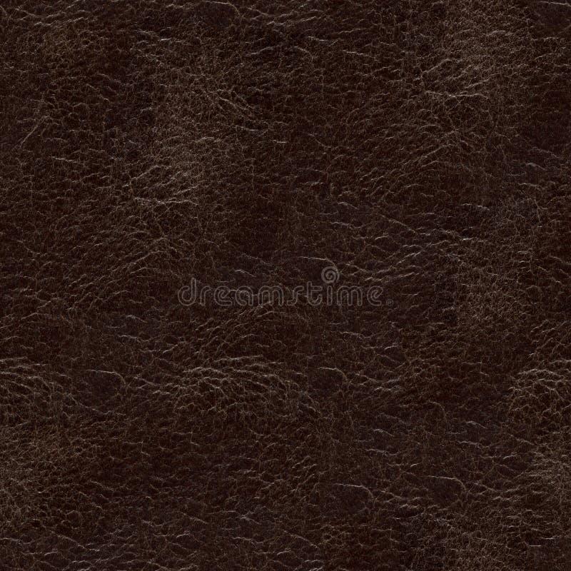 Stilvolle lederne Beschaffenheit in der braunen Farbe f?r Hintergrundverwendung lizenzfreie stockfotografie