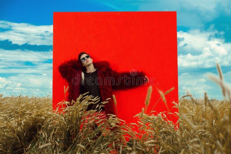 Stilvolle Mode im Freien lizenzfreie stockfotos