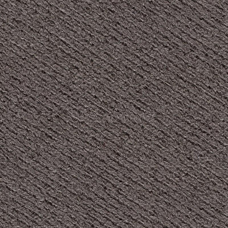 Stilvoller dunkler Gewebehintergrund für ehrfürchtigen Entwurf Nahtlose quadratische Beschaffenheit stockfoto