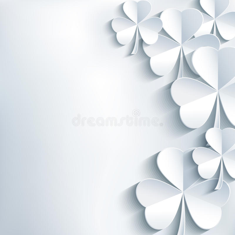 Stilvoller Hintergrund Zusammenfassung St. Patricks Tagesmit  vektor abbildung