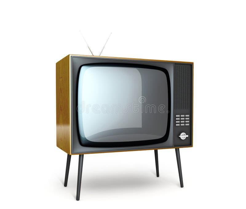 Stilvoller Retro- Fernsehapparat. vektor abbildung