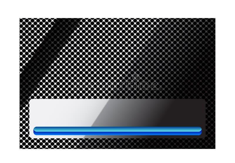 Stilvoller Stahlhintergrund vektor abbildung