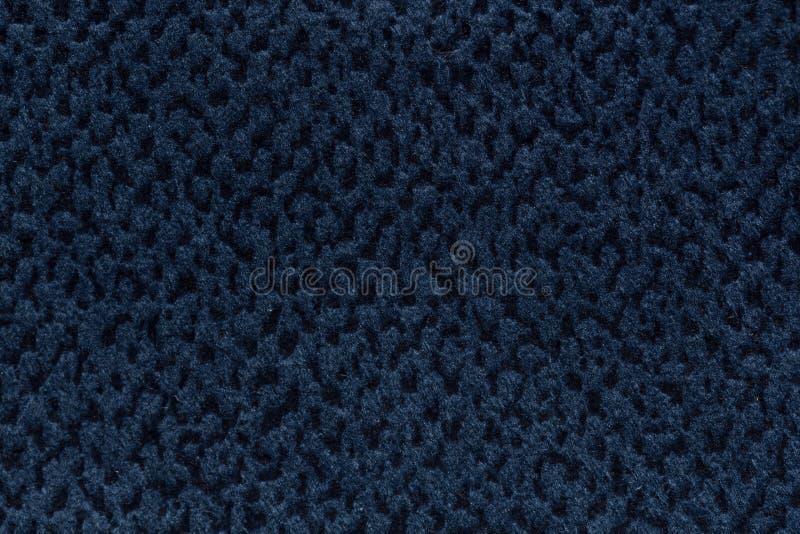 Stilvoller tiefer blauer Textilhintergrund für Ihr einzigartiges Projekt vektor abbildung