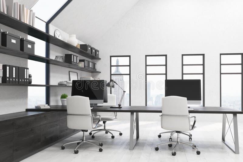 Stilvolles Büro in New York lizenzfreies stockbild