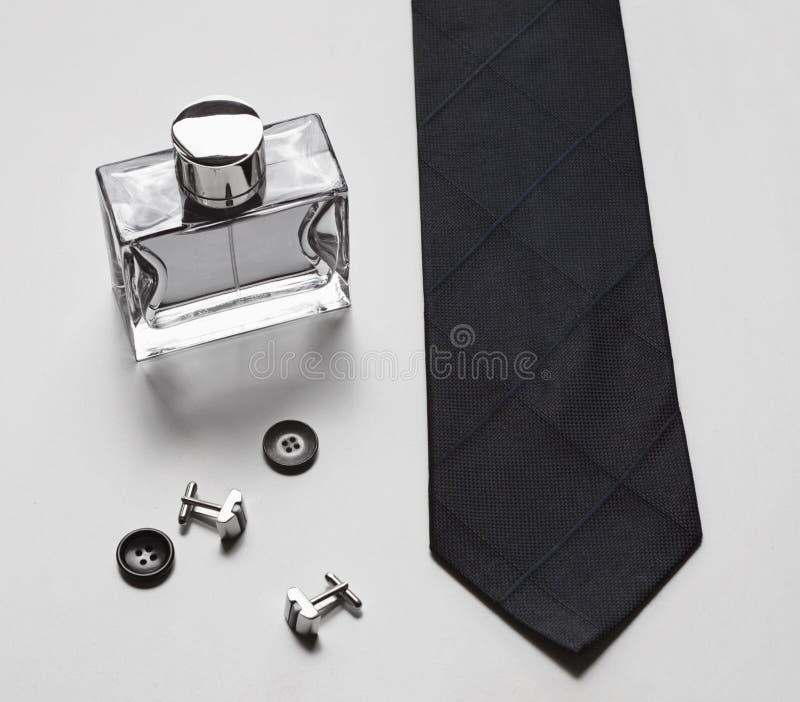 Stilvolles Geschäftszubehör der Männer lizenzfreies stockbild