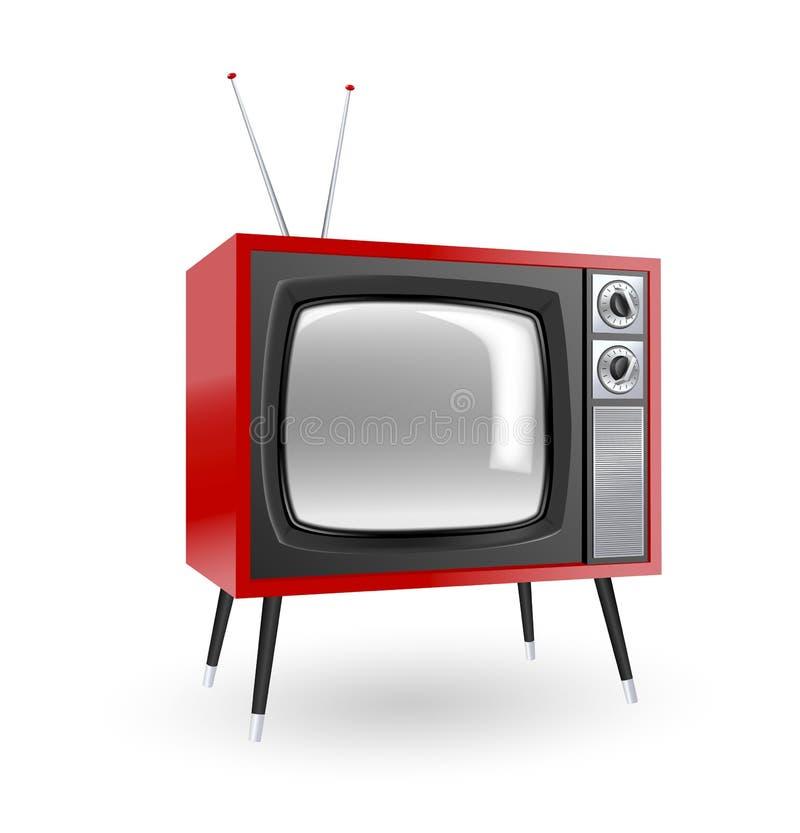 Stilvolles Retro- Fernsehen vektor abbildung