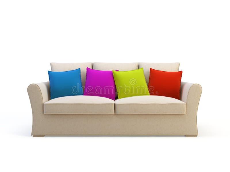 Stilvolles Sofa stock abbildung