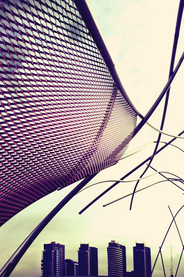 stim för hamnkvarterflugaskulptur royaltyfri fotografi