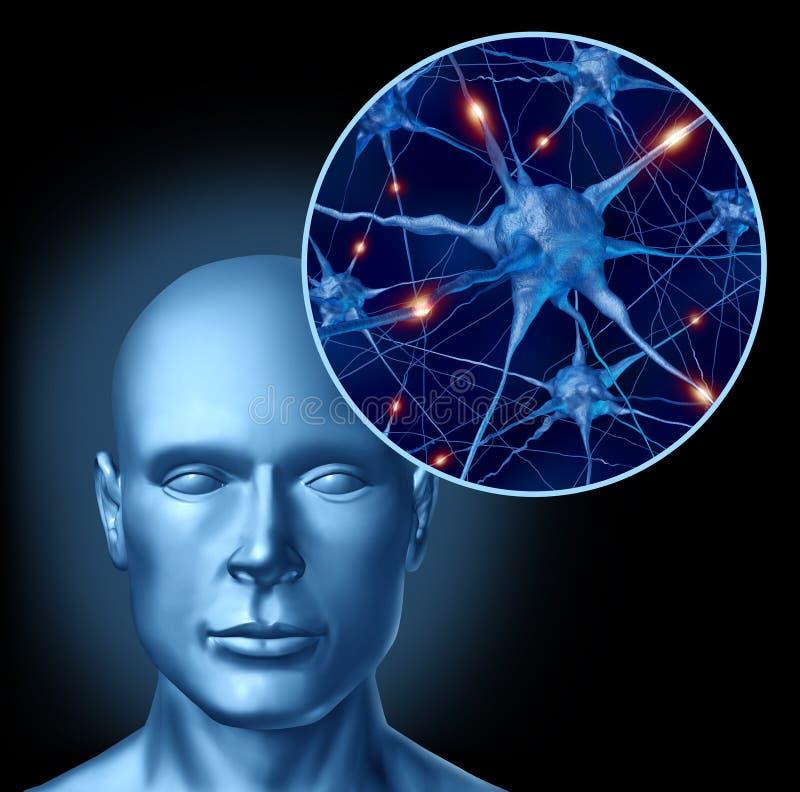 Stimulation mentale illustration de vecteur
