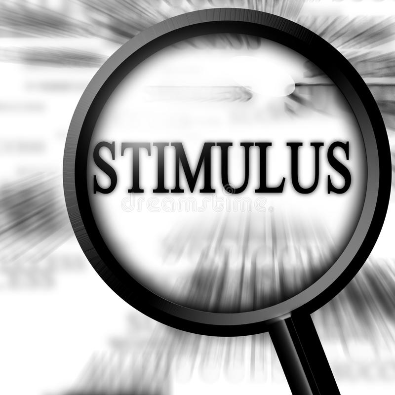 Stimulus illustration stock