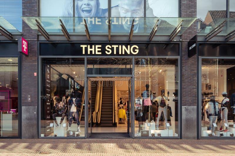 Sting Megastore novo em Dordrecht imagens de stock