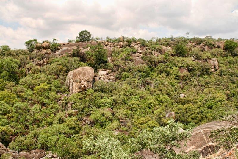 Stinging rocks of the Matopos National Park, Zimbabwe stock photos