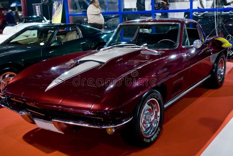 Stingray 1967 de Corvette images stock