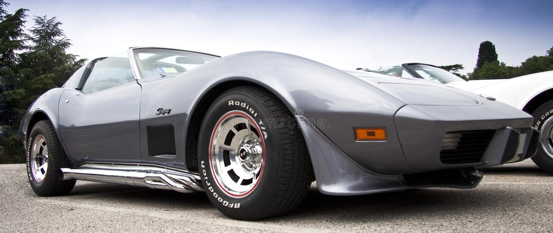 stingray corvette стоковые фотографии rf