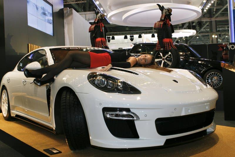 Stingray de Porsche Panamera fotografia de stock