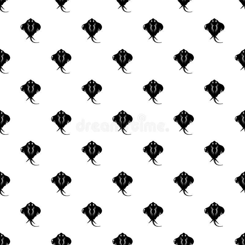 Stingray icon, simple style vector illustration