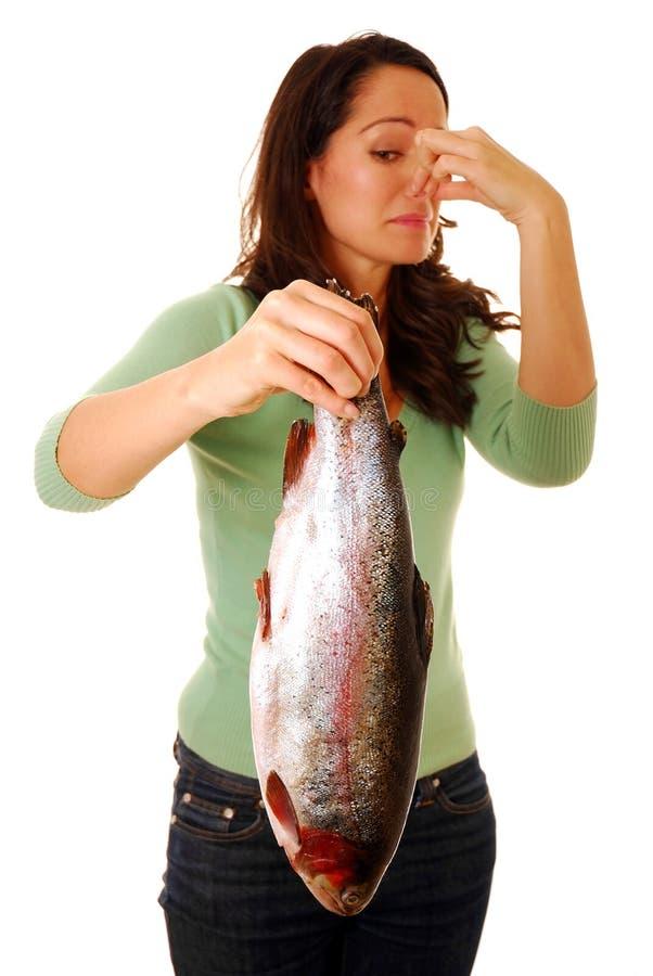 stinka fisk royaltyfria bilder