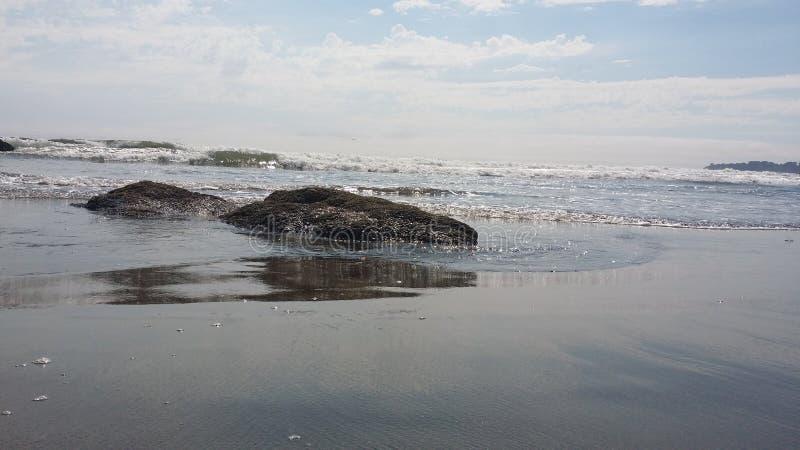 Stinson海滩 免版税库存照片
