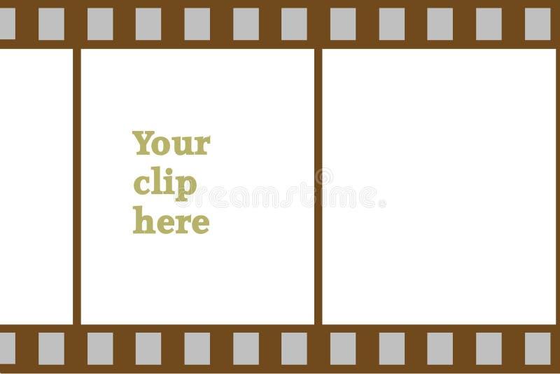 stip пленки зажима доски бесплатная иллюстрация