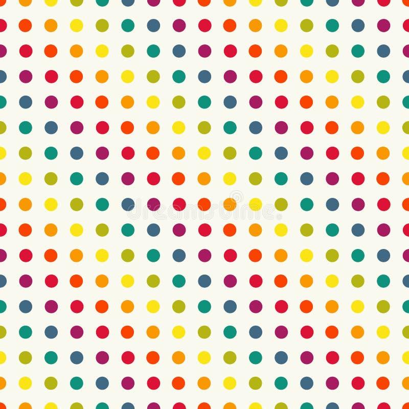 Stip naadloos patroon in uitstekende kleuren royalty-vrije illustratie