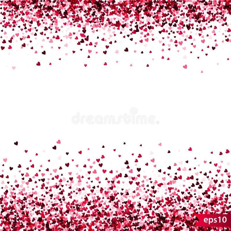 Download Stippel Patroon Voor Ontwerp Kleurrijk Minimalistic Geometrisch Patroon Met Willekeurig Gevestigde Kleine Harten Rood Hart Vector Illustratie - Illustratie bestaande uit liefde, voorwerp: 107707514