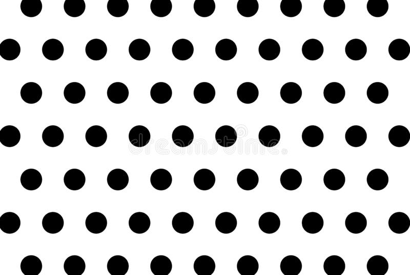 Stippen op witte achtergrond vector illustratie