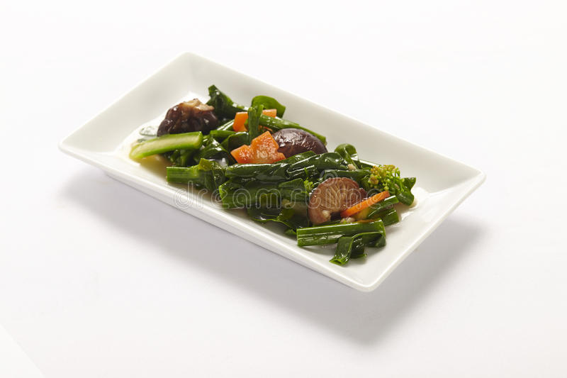 Stir-fried mix vegetables. Chinese food stock image