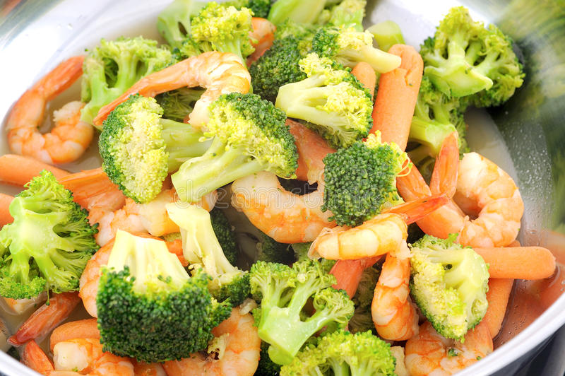 Stir fried mixed vegetable. Chinese stir fried mixed vegetable stock images