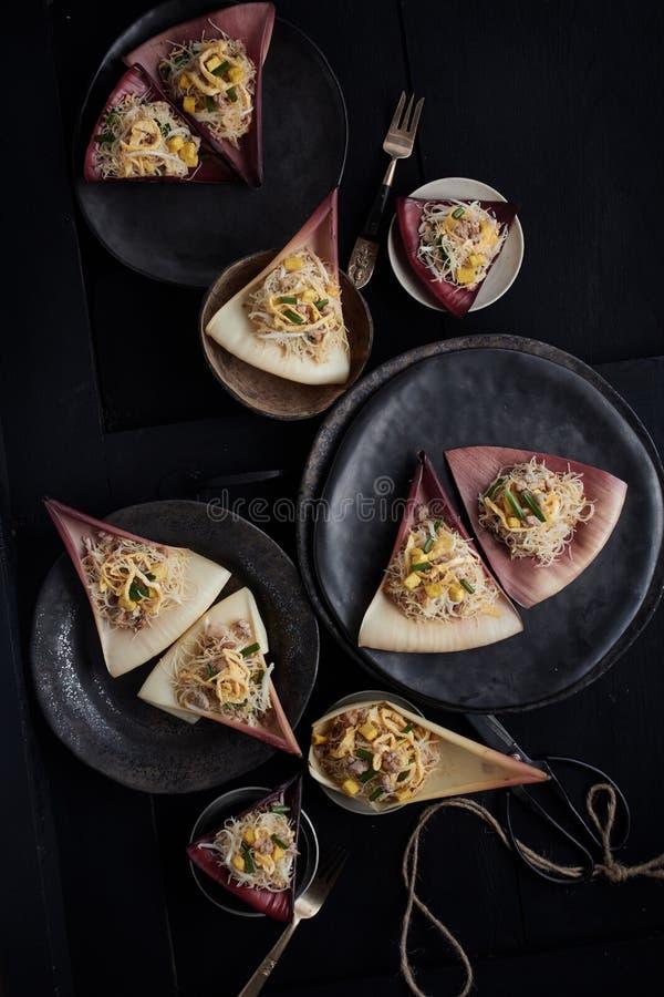 Stir fried noodle. Thai Food stock images