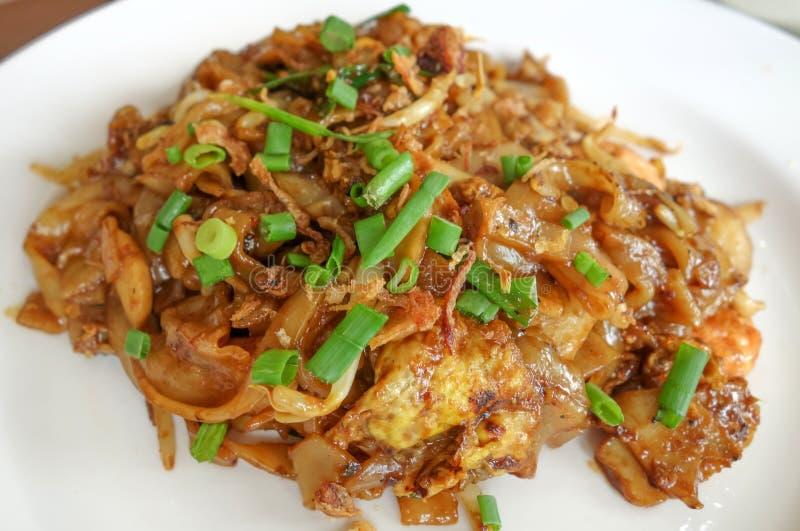 Stir-fried noodles stock photo