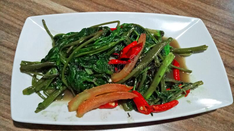 Tumis Kangkung Photos Free Royalty Free Stock Photos From Dreamstime