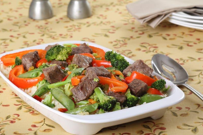 stir fry говядины стоковые изображения rf