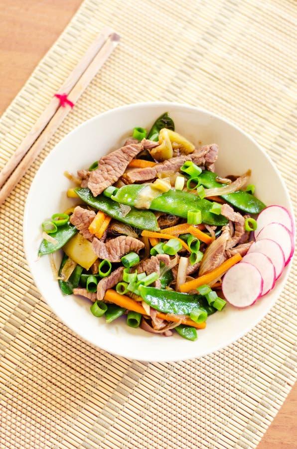 Download Stir fry stock image. Image of radish, zucchini, wood - 32891741