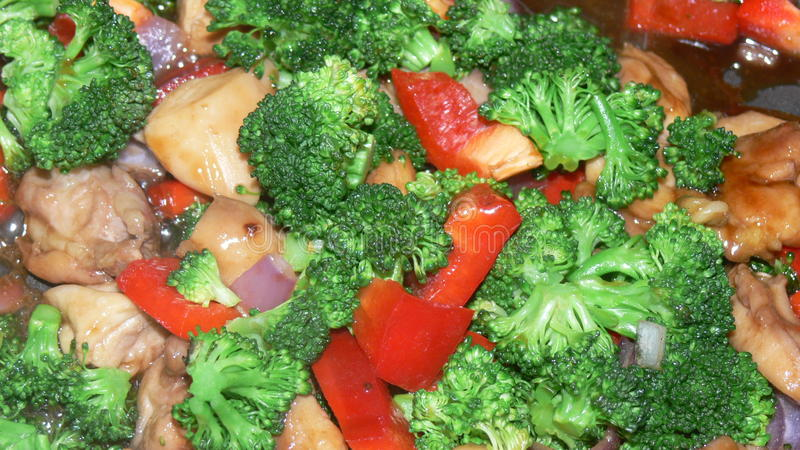 Stir fry with Chicken and veggies..
