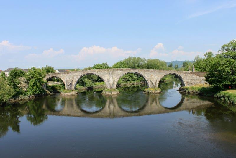 Stirling bridge stock photo