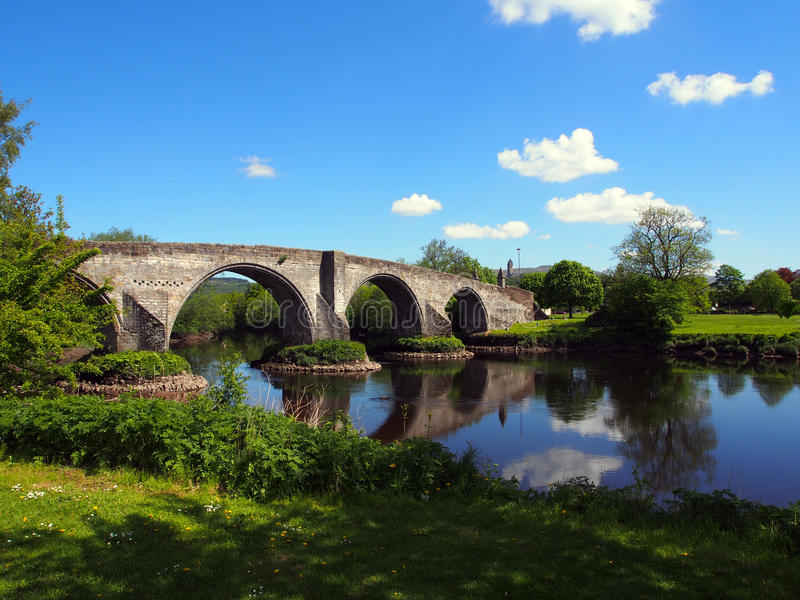 Stirling Bridge fotografia de stock