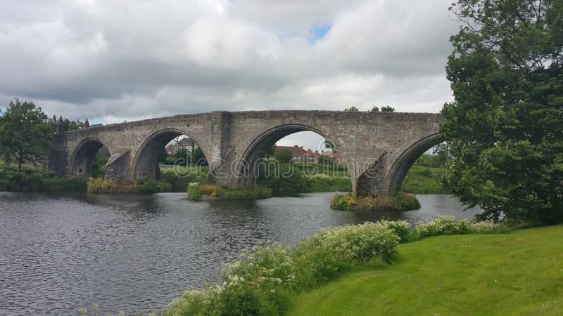 Stirling Bridge imagenes de archivo