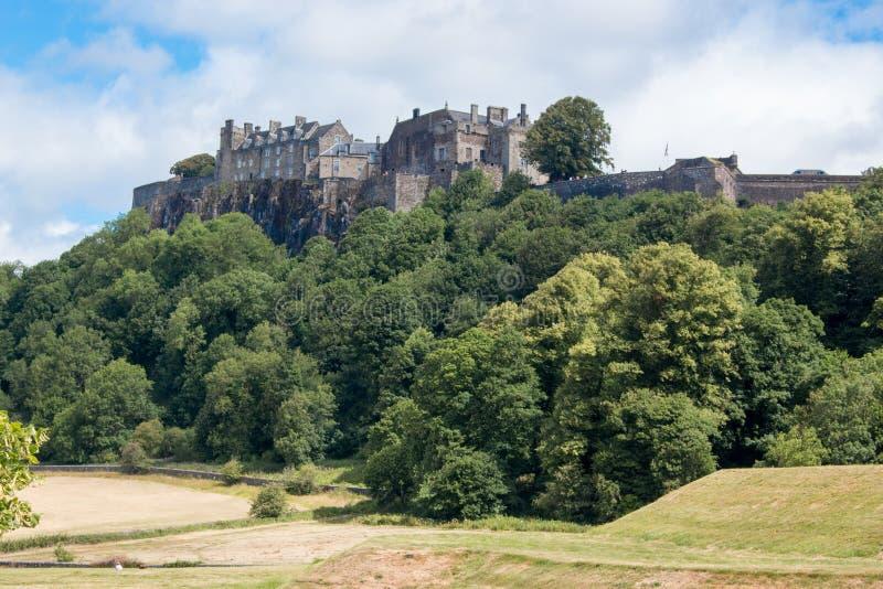 Stirling Castle är en av de största och viktigaste slottarna i Skottland Skottland Förenade kungariket Europa royaltyfria bilder
